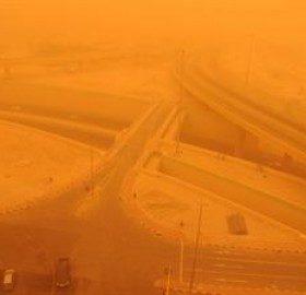 تحذير جوي من رياح مثيرة للغبار وأمطار رعدية تعبر البلاد حاليا
