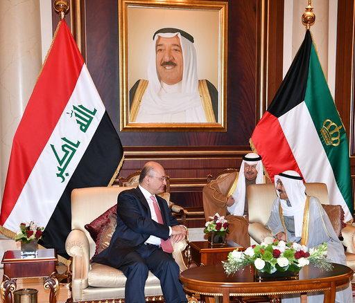 الرئيس العراقي: للكويت منزلة خاصة في قلوبنا