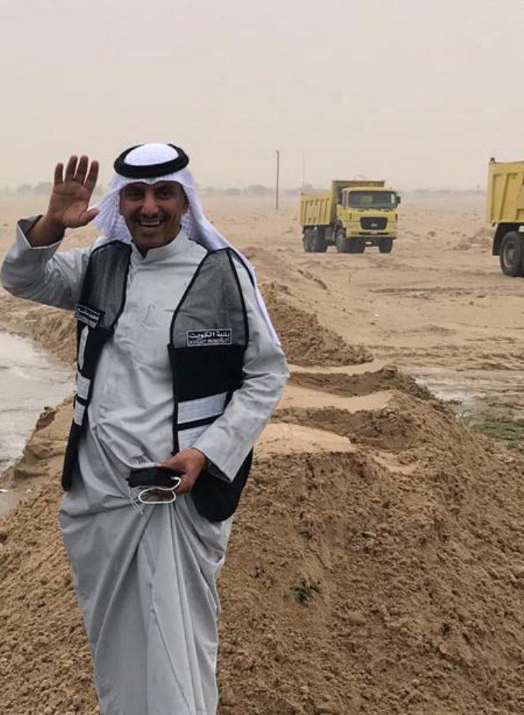 بلدية الكويت: سواتر ترابية لحماية الجهراء من سيول الأمطار